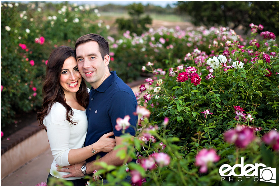 Rose Garden Engagement Session