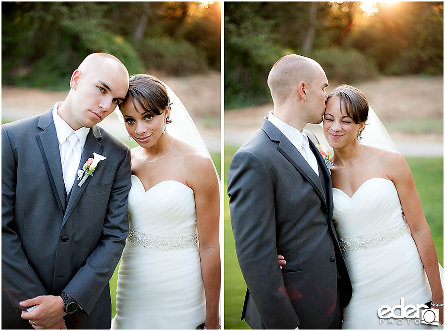 Creative wedding photography at Wedgewood in Fallbrook by Eder Photo