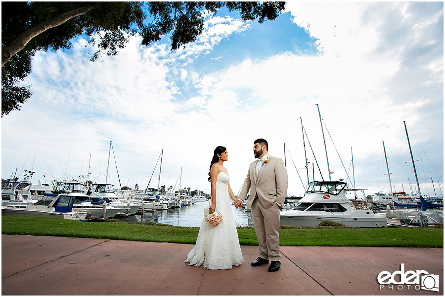 Marina Village Wedding