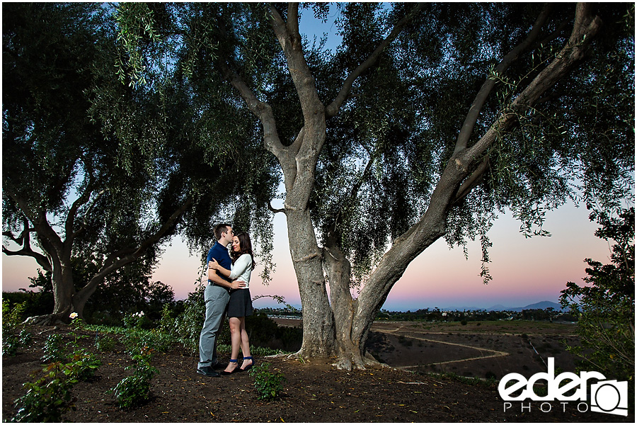 Rose Garden Engagement Session – Balboa Park – San Diego, CA