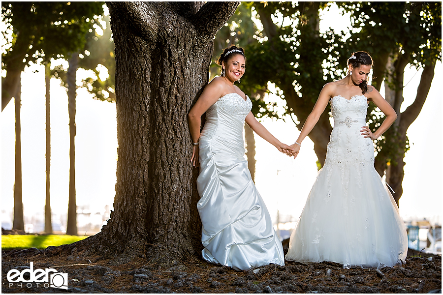 Gay and Lesbian Wedding Photographer in San Diego Eder Photo