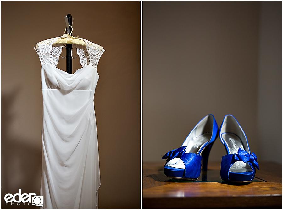 Destination Wedding - Blue Wedding Shoes