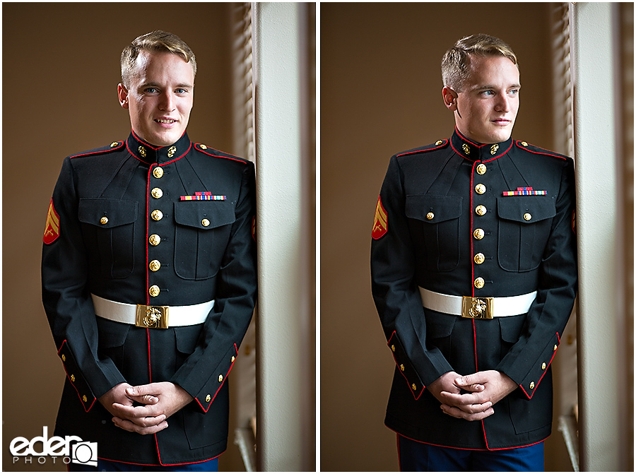 Destination wedding military