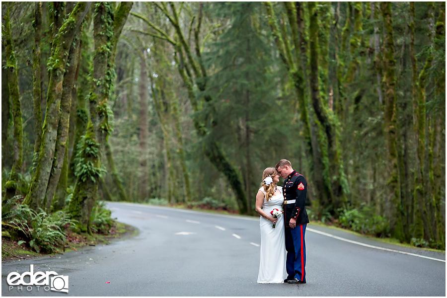 Destination wedding photography in Washington