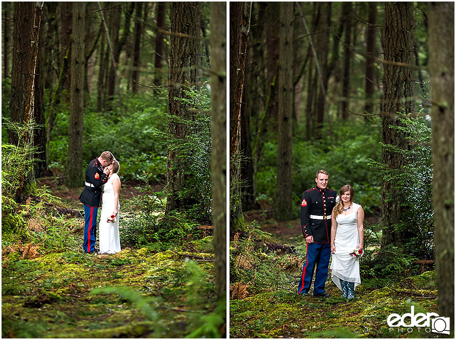 Destination Wedding Photography for Military
