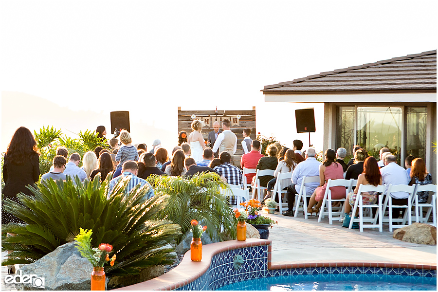 Amazing Backyard Weddings San Diego
