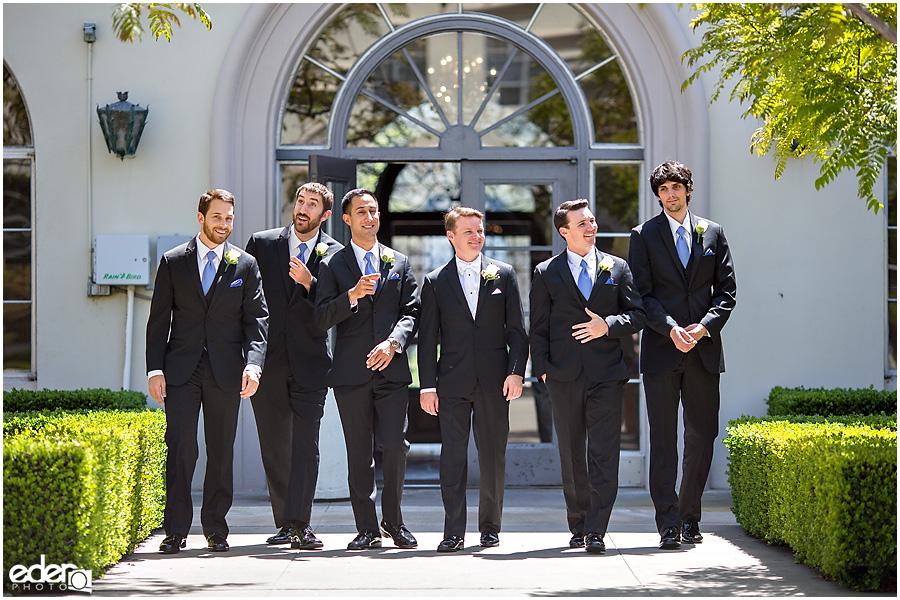 Founders Chapel Wedding Groomsmen