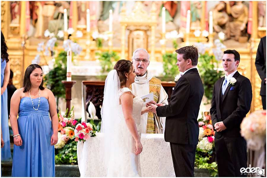 Founders Chapel Wedding ring photo
