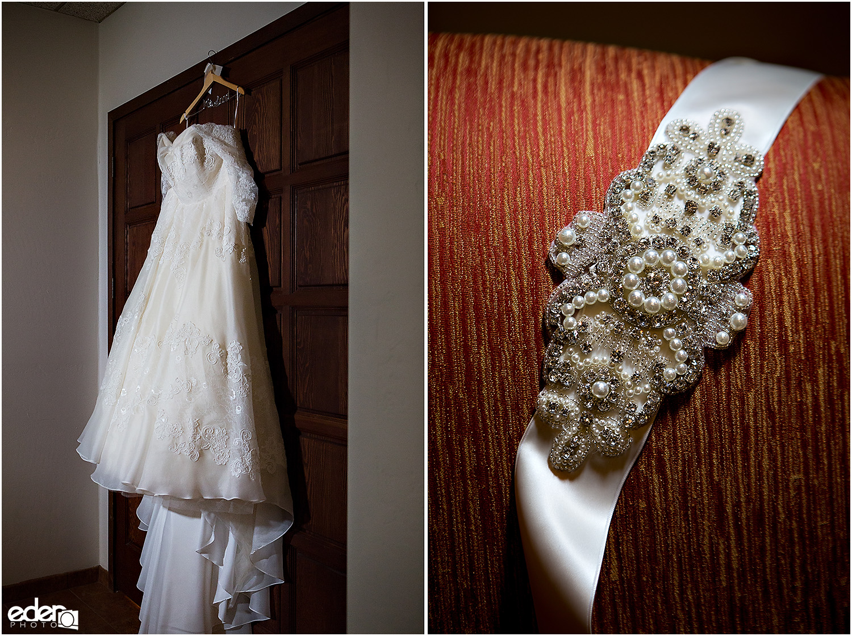 Heritage Park wedding details - dress