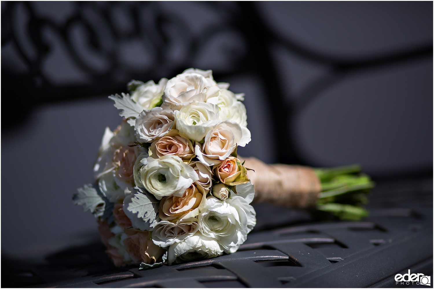 Heritage Park wedding details - bouquet