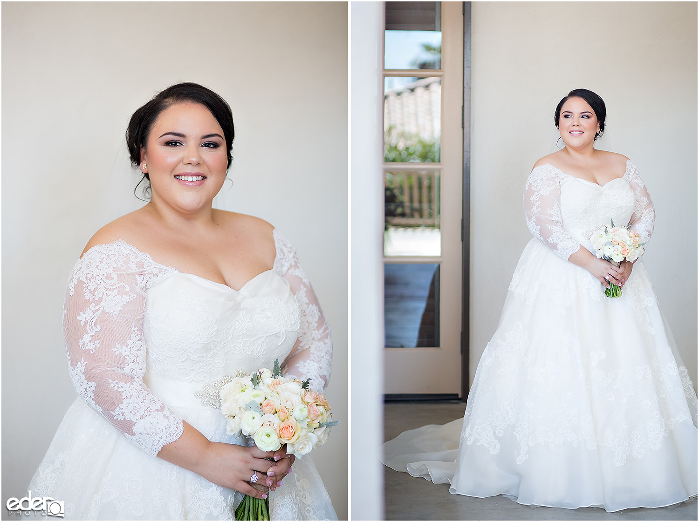 Heritage Park wedding bride