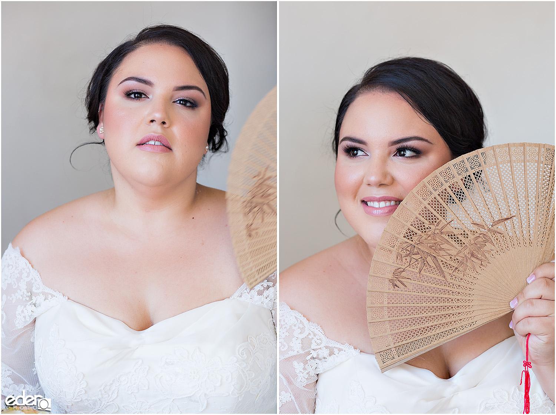 Heritage Park wedding bride portraits