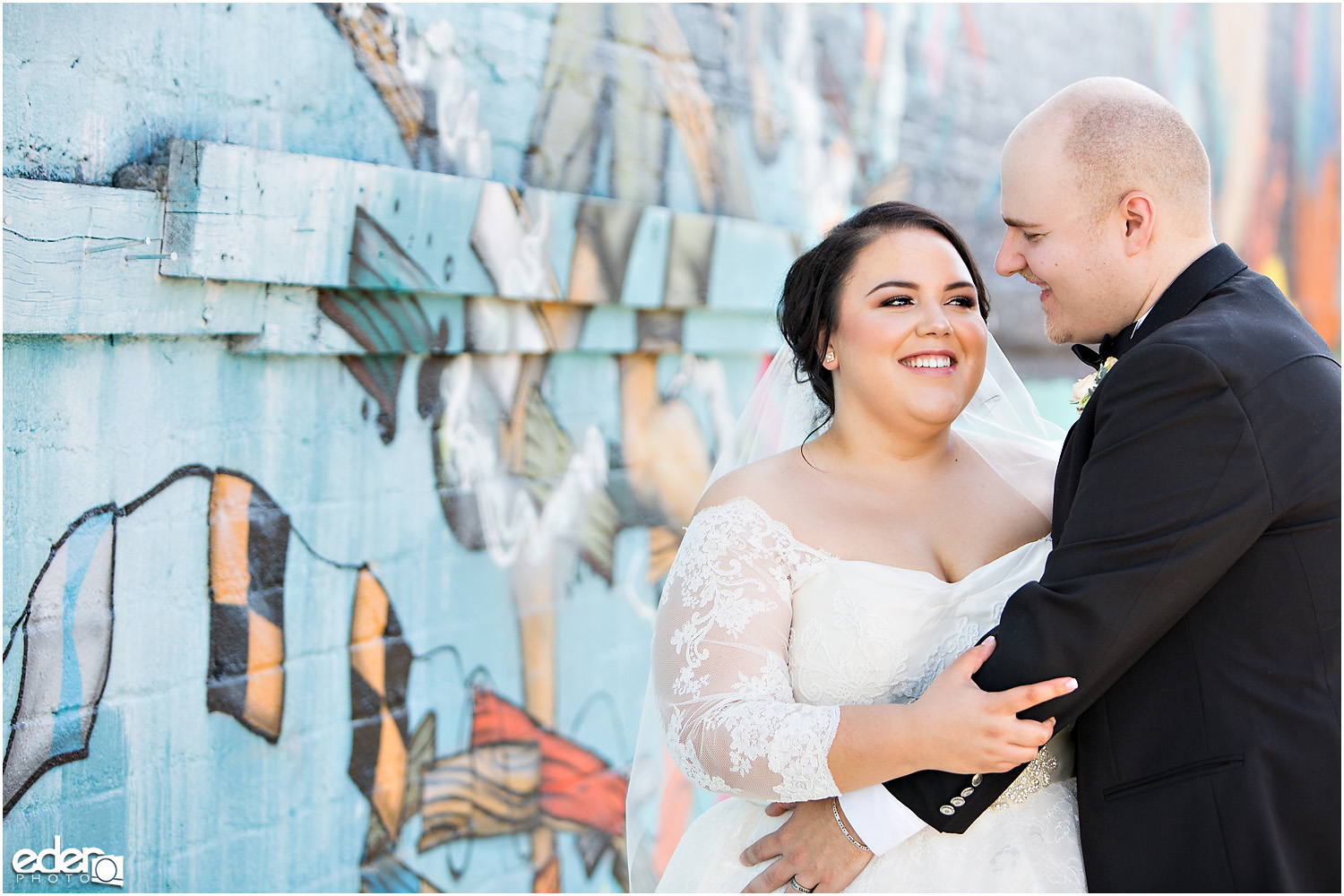 Moniker Warehouse Wedding Portraits