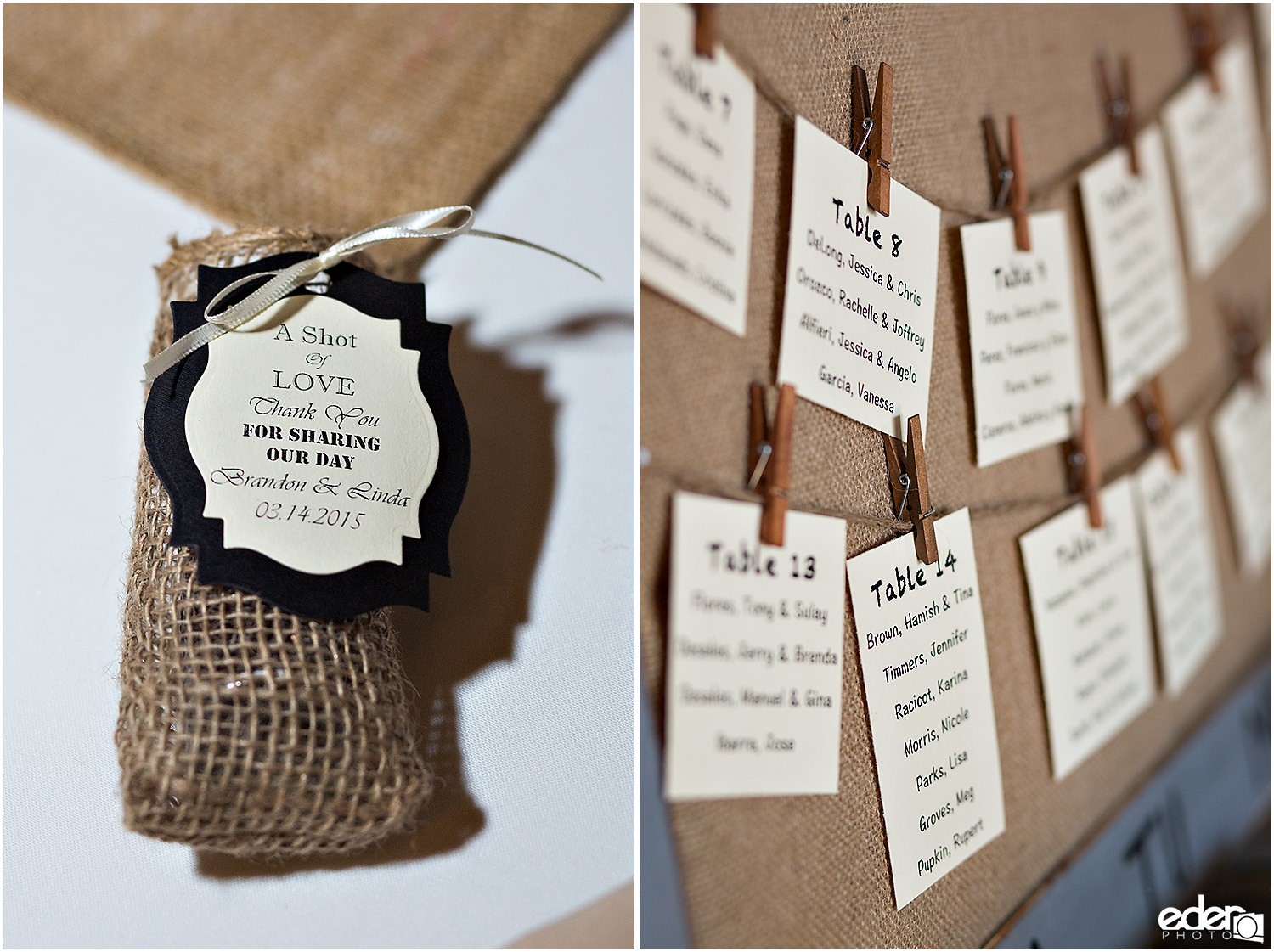 Moniker Warehouse Wedding Details - seating chart