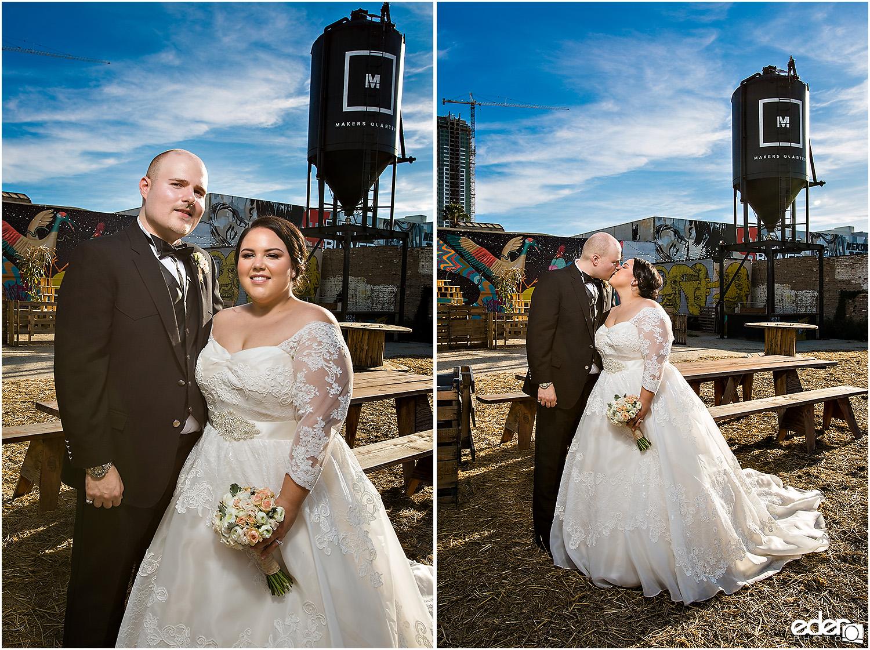 Moniker Warehouse Wedding Portraits