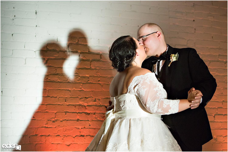 Moniker Warehouse Wedding First Dance