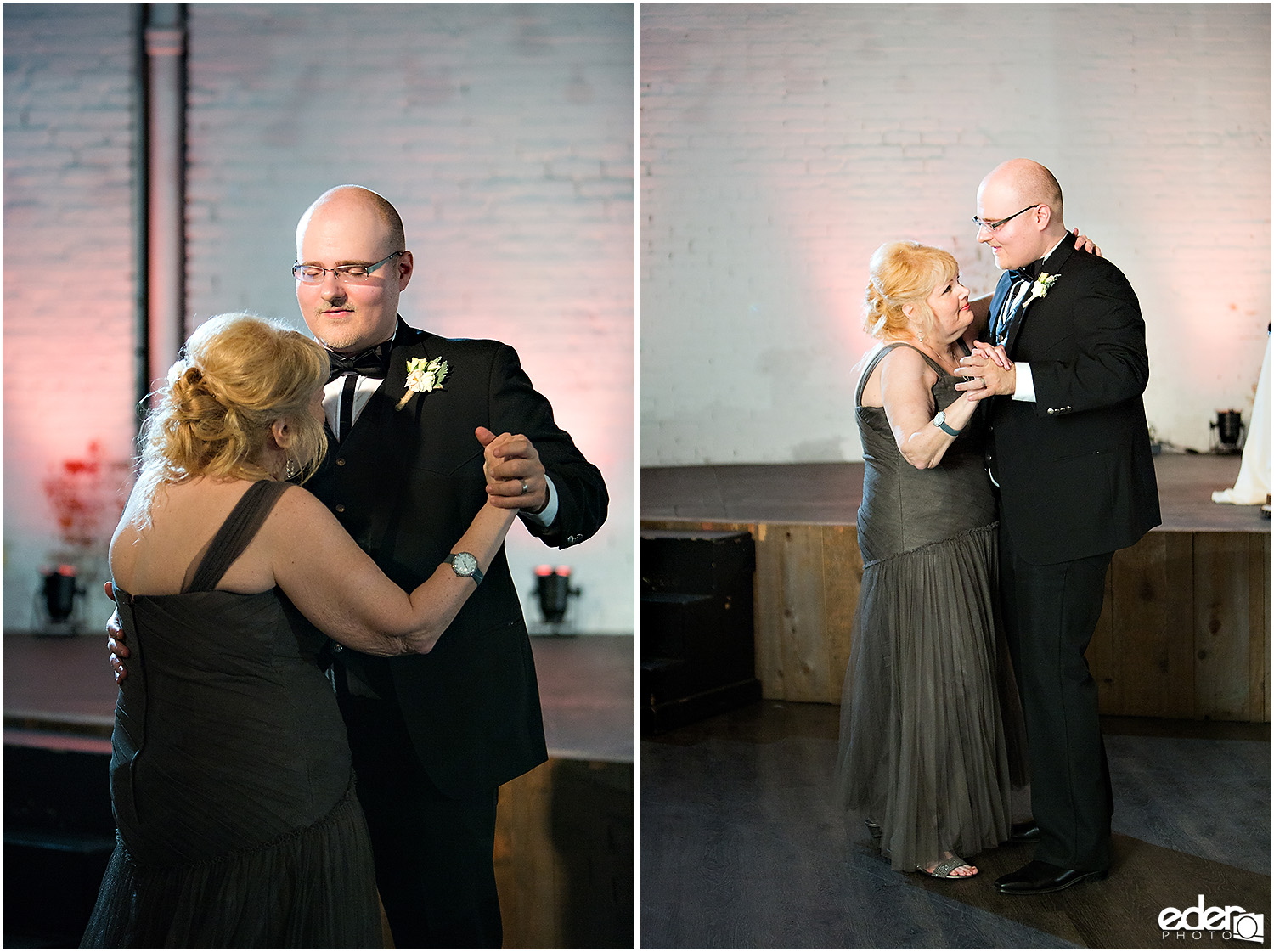 Moniker Warehouse Wedding Parent Dance