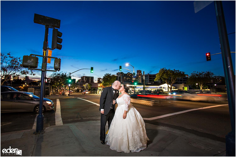 Moniker Warehouse Wedding Night Portraits