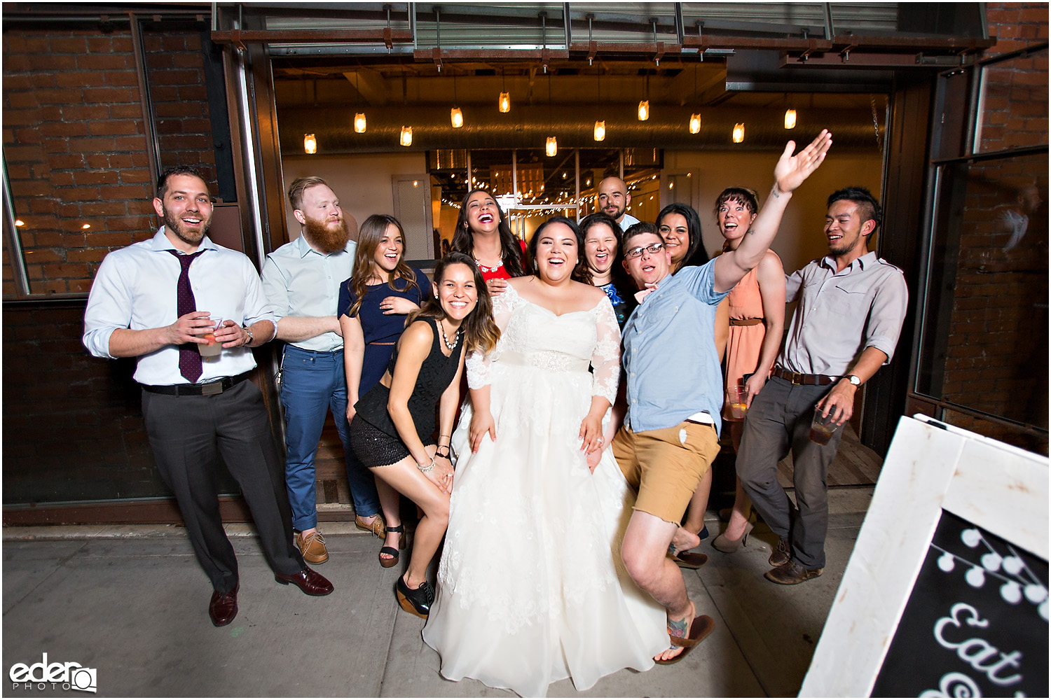 Moniker Warehouse Wedding Reception