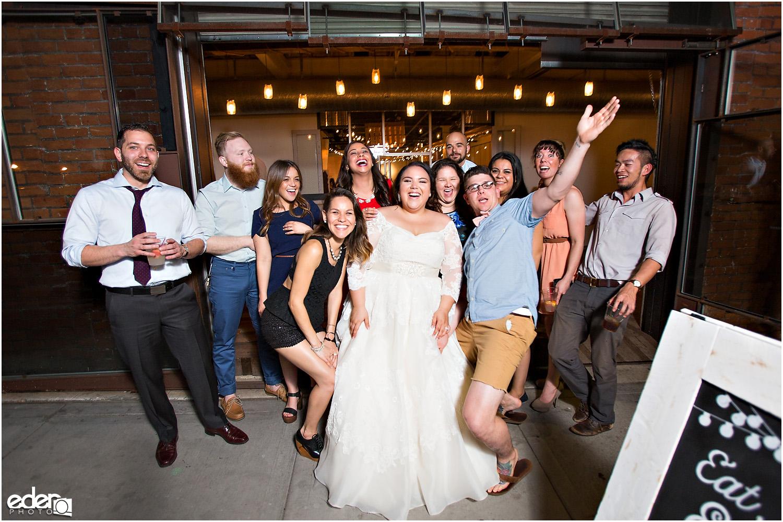 Moniker Warehouse Wedding Reception