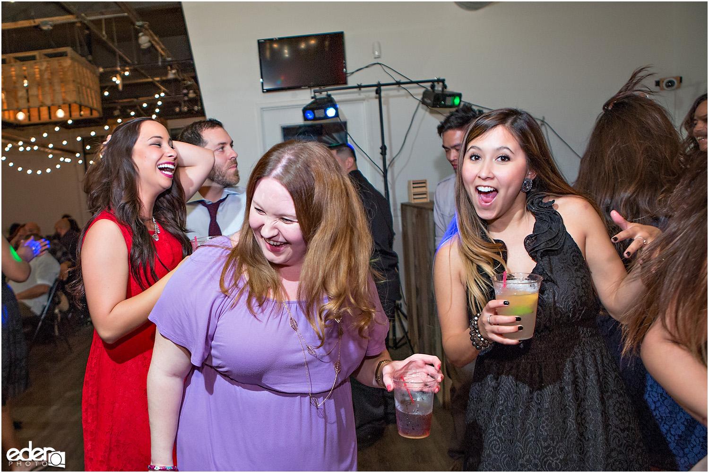 Moniker Warehouse Wedding Reception Dancing