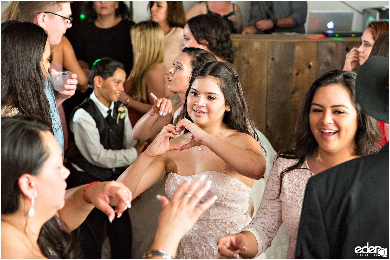 Moniker Warehouse Wedding dancing