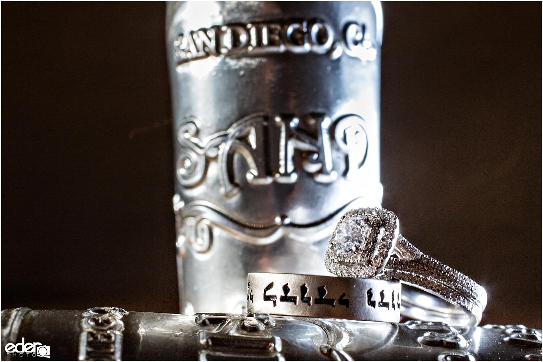 Moniker Warehouse Wedding Ring Shot