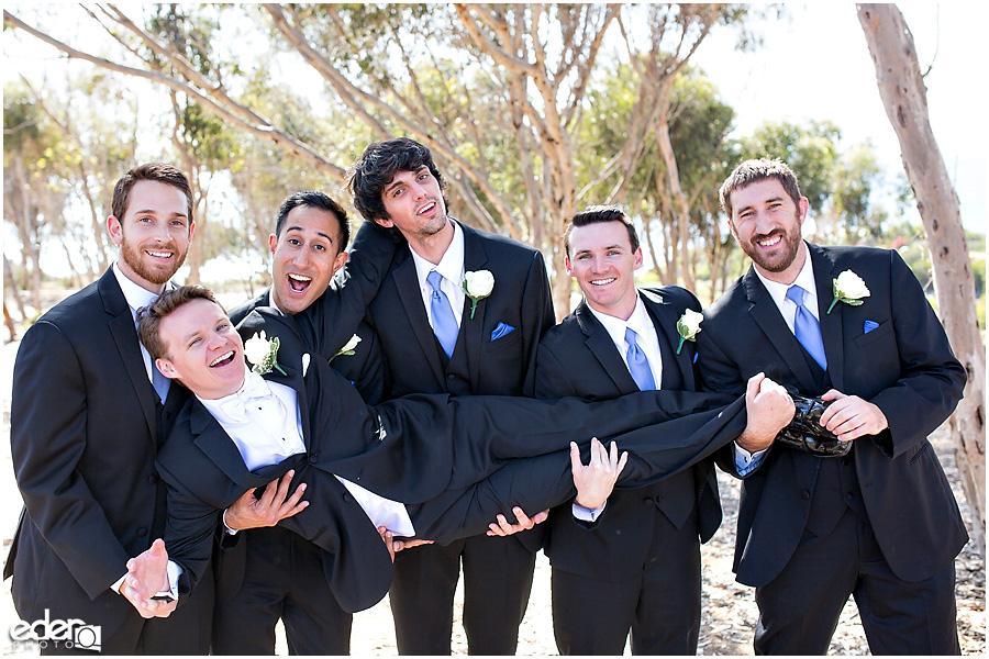 Thursday Club Wedding groomsmen