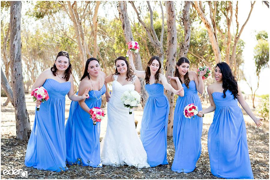Thursday Club Wedding bridesmaids