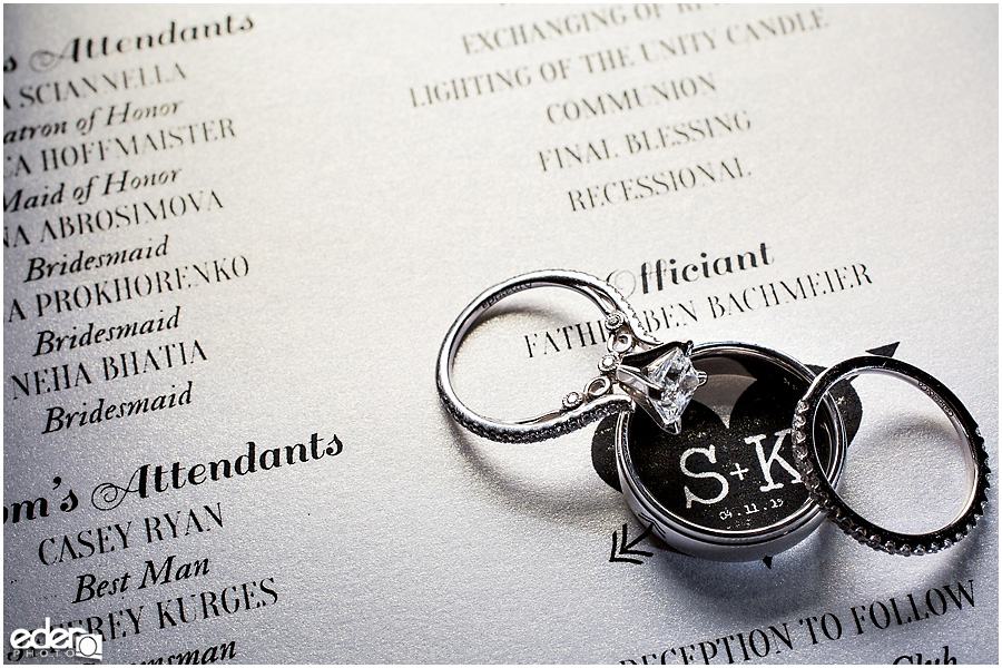 Thursday Club Wedding Ring Photo
