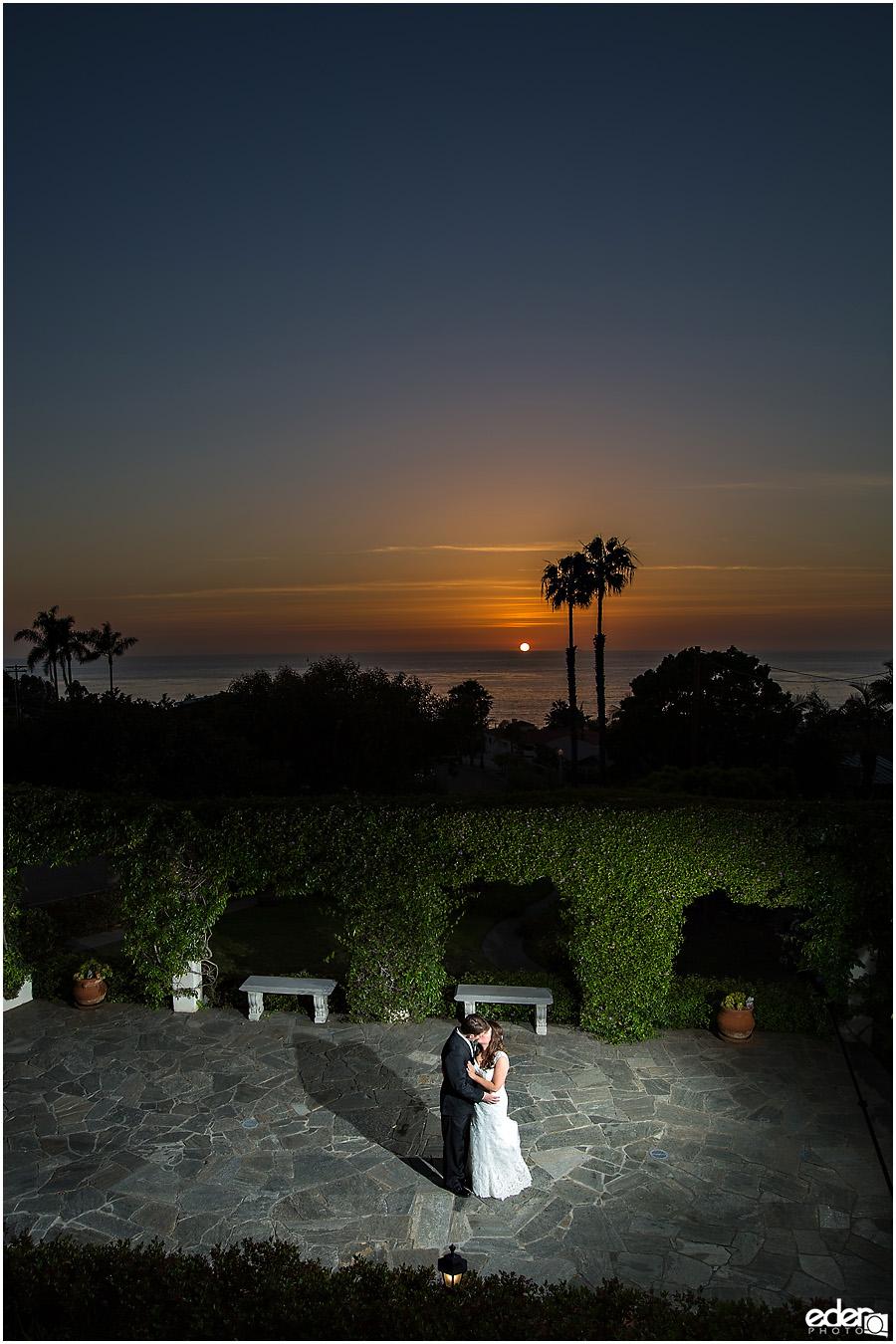 Thursday Club Wedding Sunset
