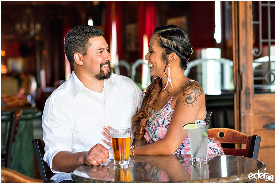 Bar Engagement Session in San Diego