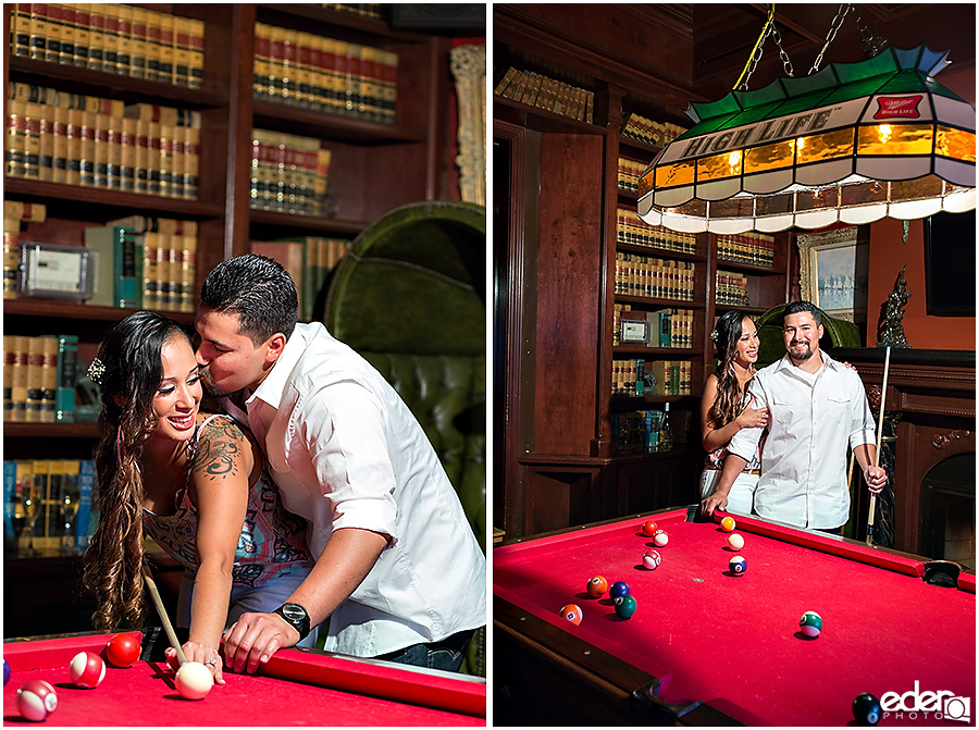 Bar Engagement Session Pool Table