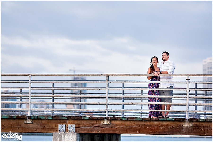 Coronado Ferry Landing Engagement Session