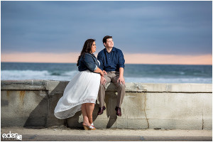 Mission Beach Engagement Session – San Diego, CA
