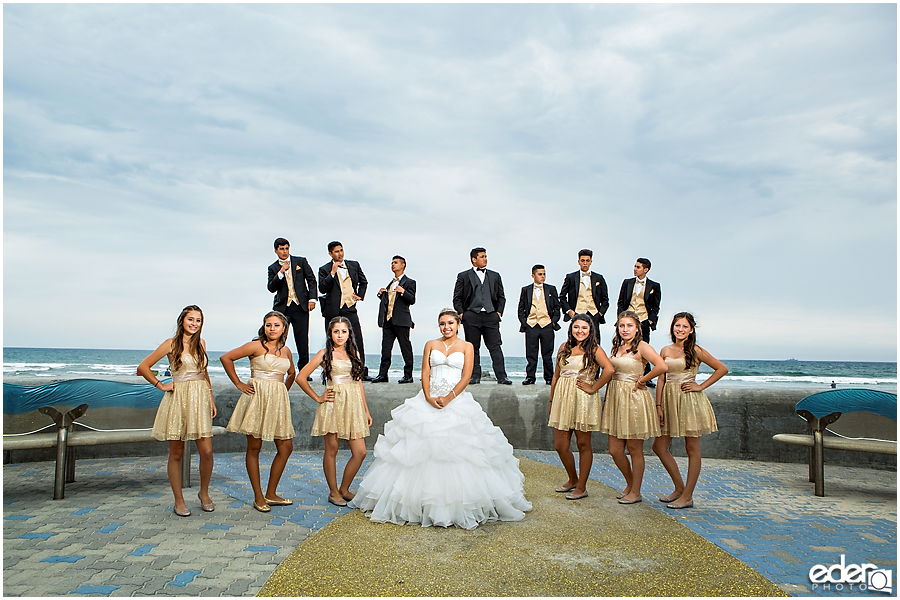 Quinceañera Photography - beach portraits