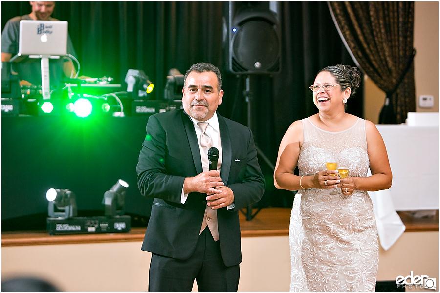 Quinceañera Photography Reception Party toasts