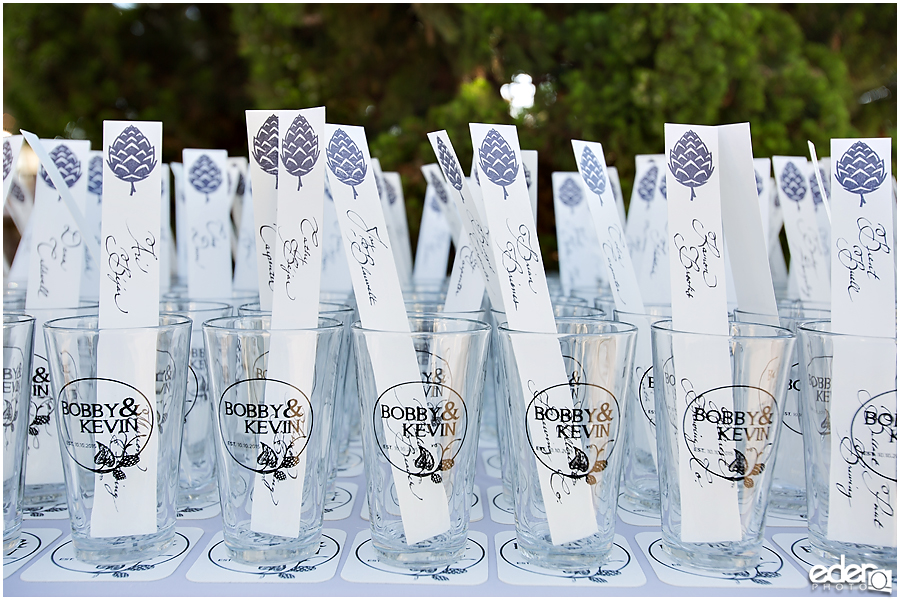 Craft Beer Wedding Decor