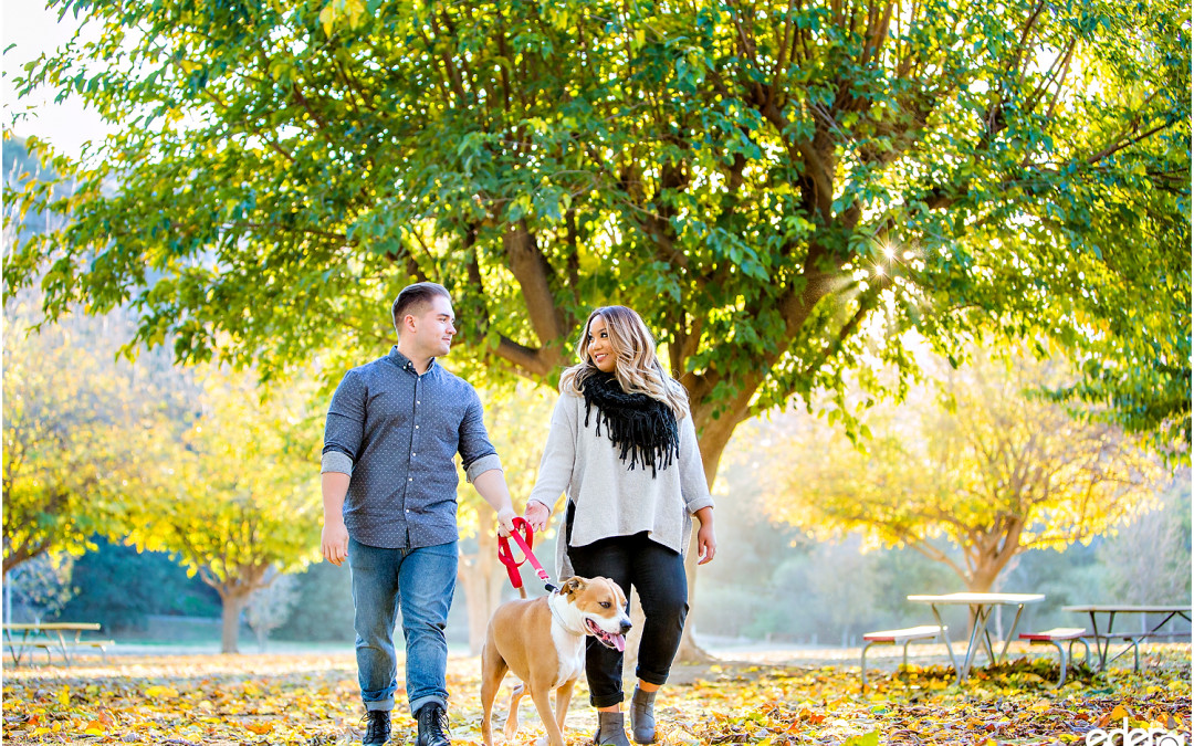 Bates Nut Farm Engagement – Valley Center, CA