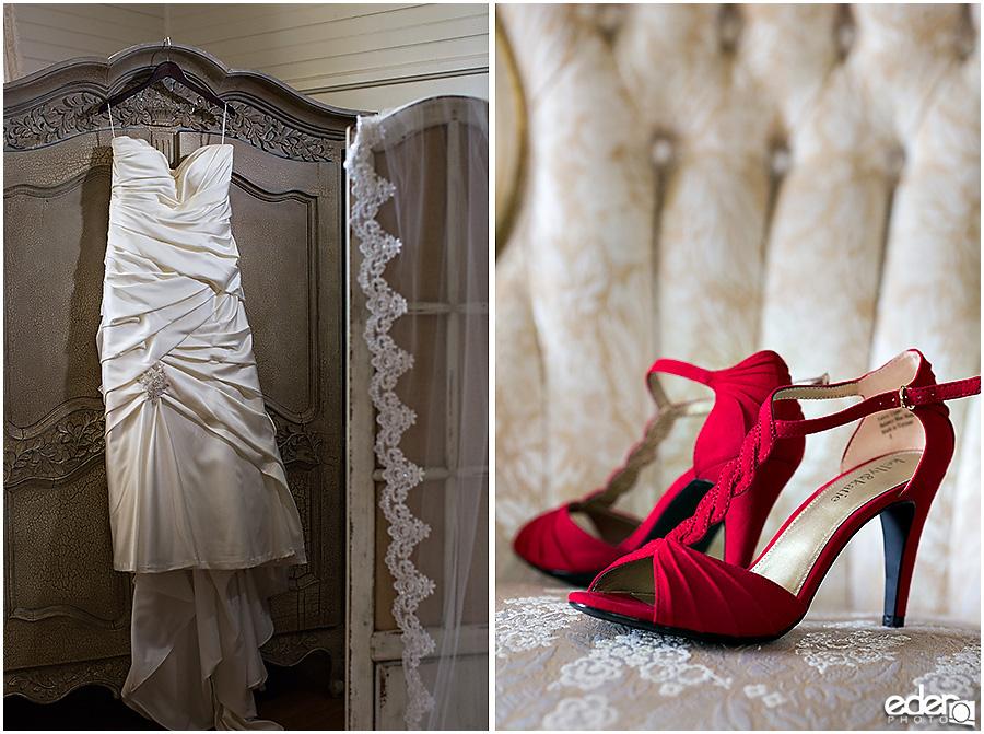 Green Gables Wedding Bride's Room