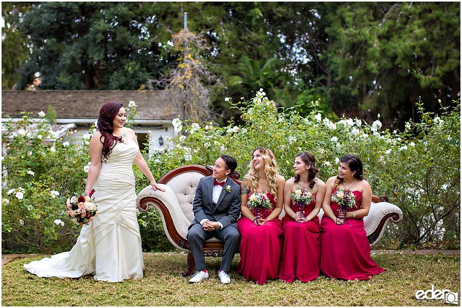 Bridesmaids at Green Gables