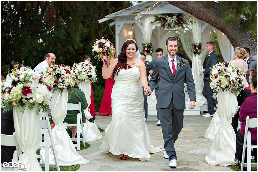 Green Gables Wedding Ceremony Recessional