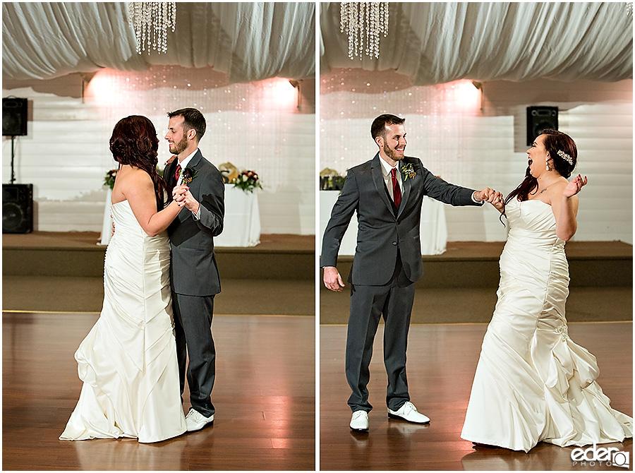 Green Gables Wedding Reception first dance