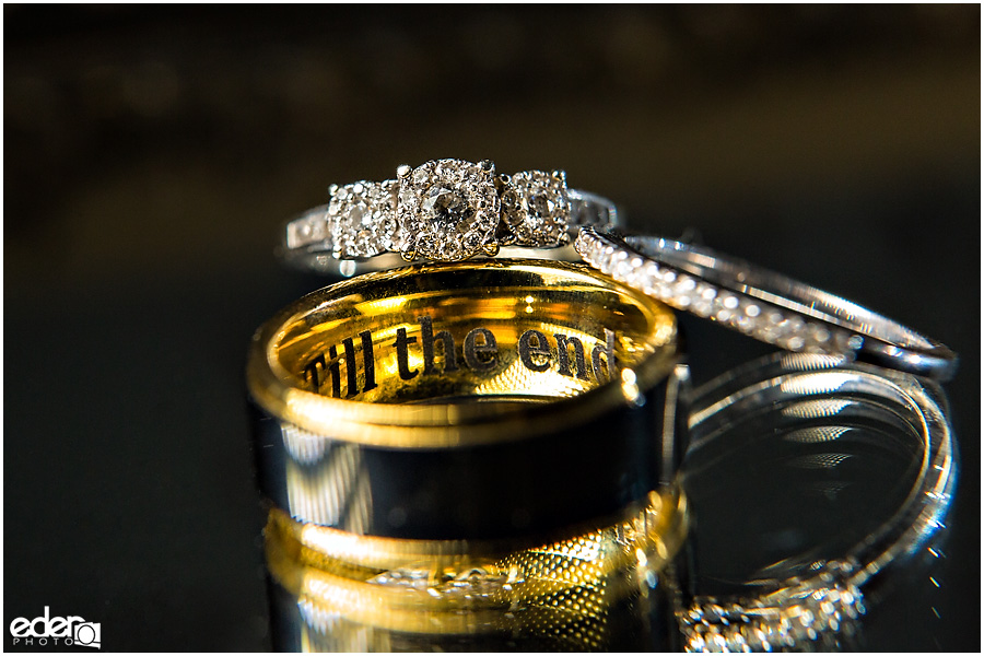Best wedding photography in San Diego ring photos