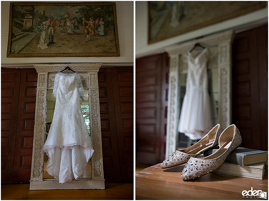 Wedding Dress at Green Gables Wedding Estate
