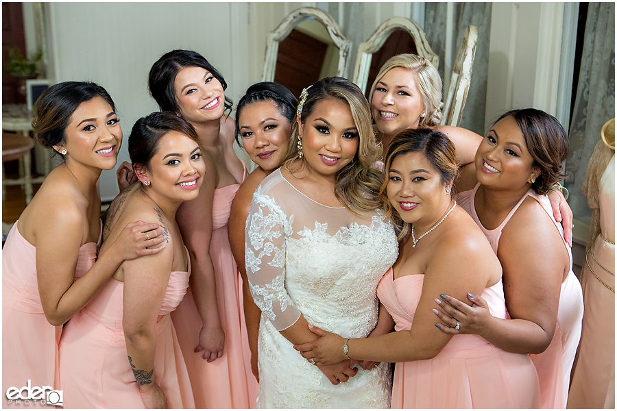 Bridesmaids at Green Gables Wedding Estate