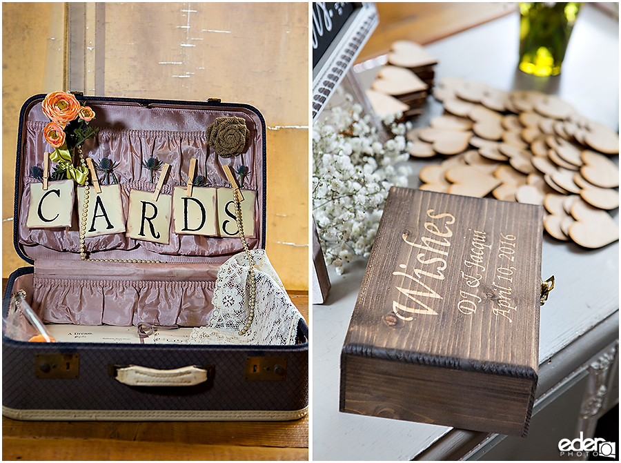 cards box for wedding reception