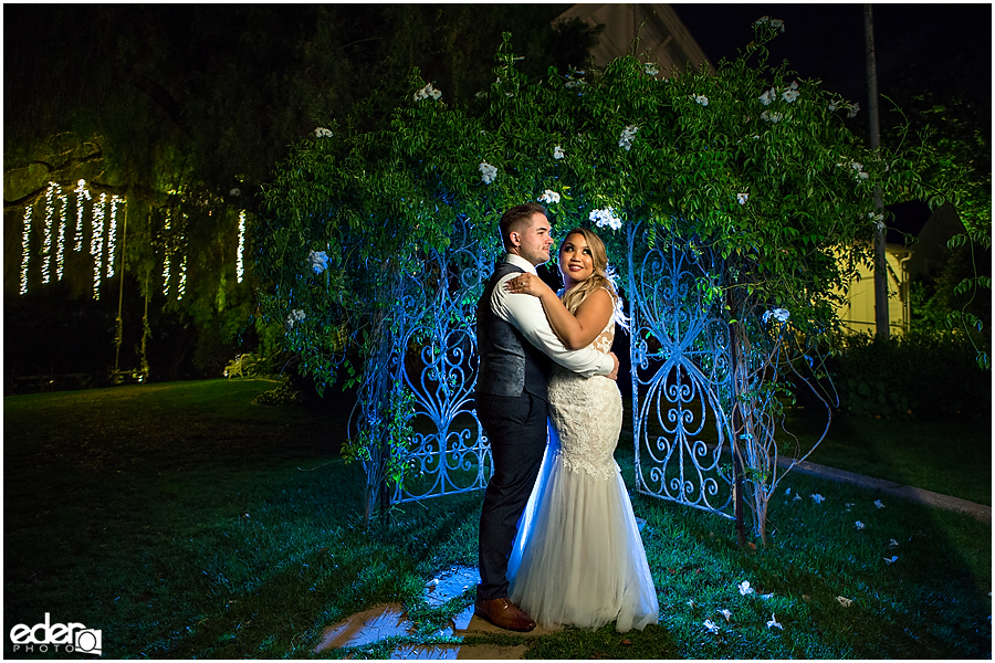 Fairy tale wedding photography in San Diego