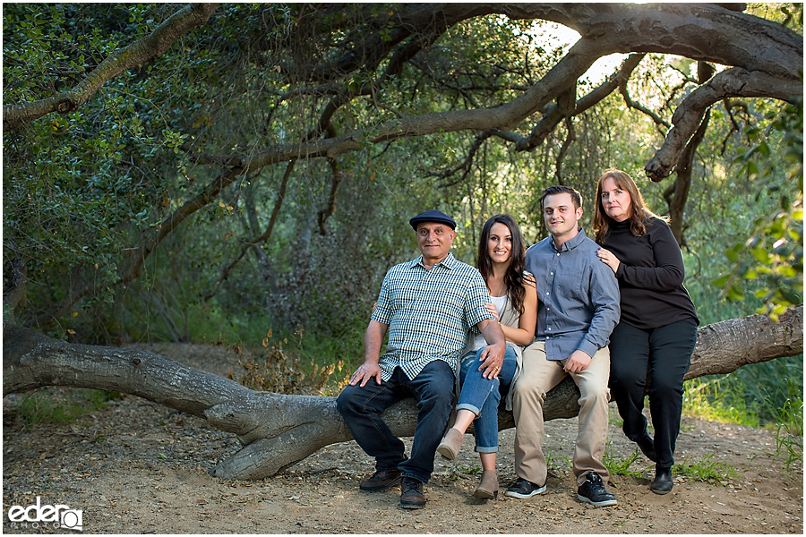 San Diego Outdoor Family Portrait Photography