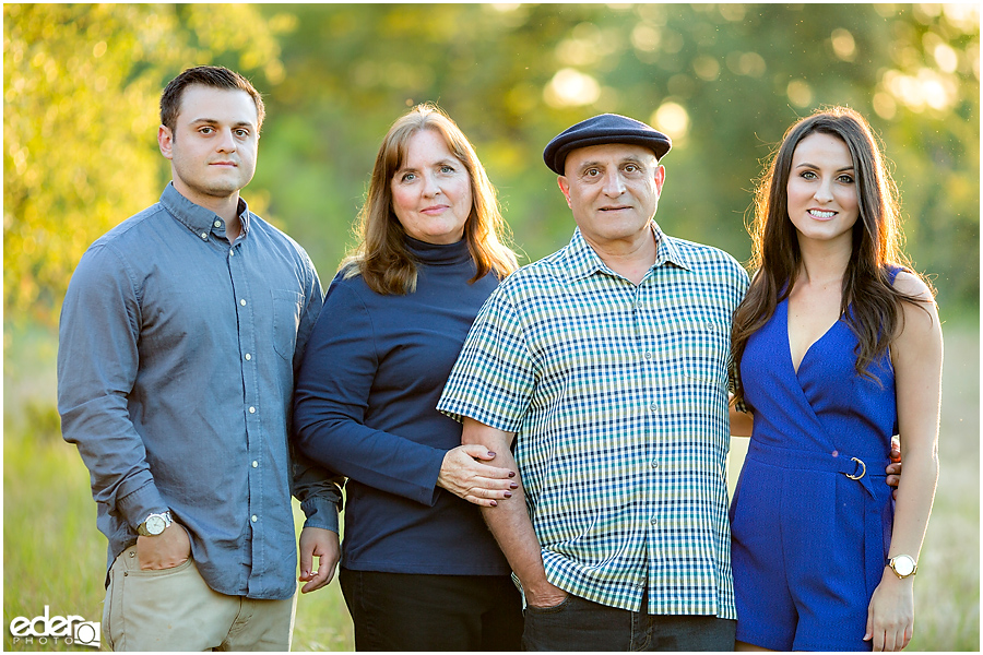 Sunset Family Portrait Photography